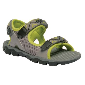 Kids Terrarock Sandasl Rock Grey Lime Zest