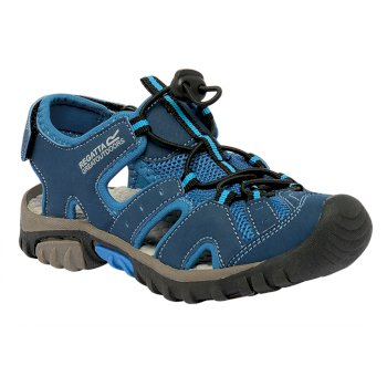 Kids' Deckside Sandal Blue Wing