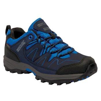 Kids Holcombe Low Walking Shoes Navy Blazer Oxford Blue