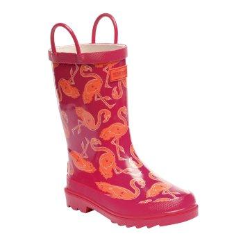 Kids Minnow Wellington Boots Duchess Satsuma