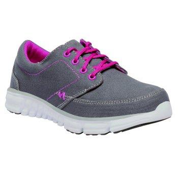 Kids Marine Walking Shoes Granite Hot Pink