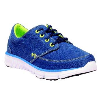 Kids Marine Walking Shoes Prussain Sharp Green
