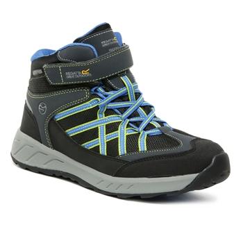 Kids' Samaris V Waterproof Mid Walking Boots Briar French Blue