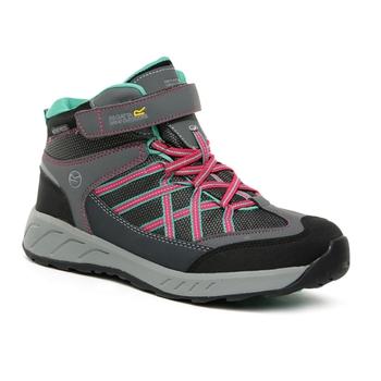 Kids' Samaris V Waterproof Mid Walking Boots Granite Duchess