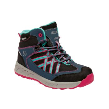 Kids' Samaris Mid Walking Boots Blue Duchess