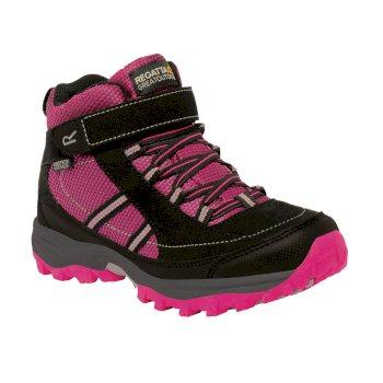 Kids Trailspace II Mid Walking Boots Jem Black