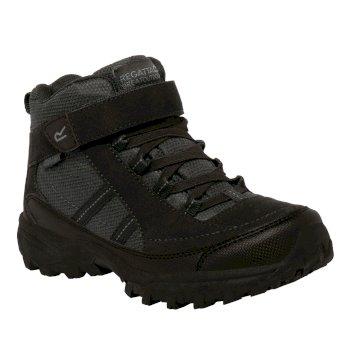 Kids Trailspace II Mid Walking Boots Black
