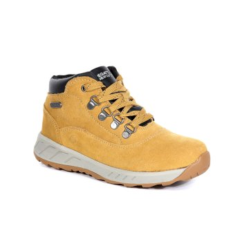 Kids' Grimshaw Mid Walking Boots Spruce Yellow