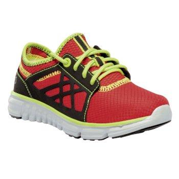 Kids Marine Sport Walking Shoes Pepper Lime Zest