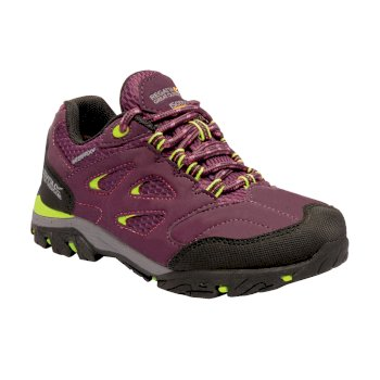 Kids' Holcombe Low Walking Shoes Italian Plum Lime Punch