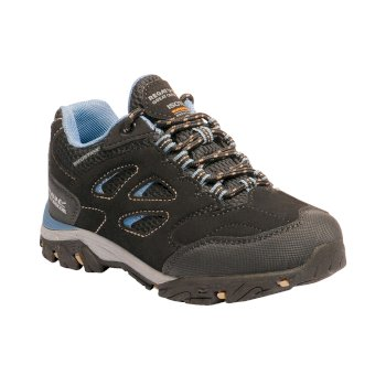 Kids' Holcombe Low Walking Shoes Black Captain's Blue