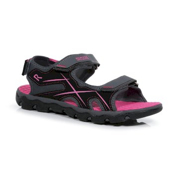 Kids' Kota Drift Lightweight Walking Sandals Granite Cabaret