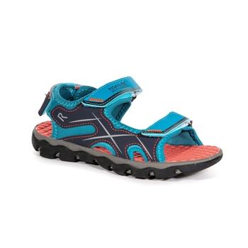 Niebieskie sandały dziecięce Kota Drift Jnr
