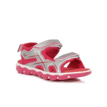 Kids' Kota Drift Sandals Silver Duchess