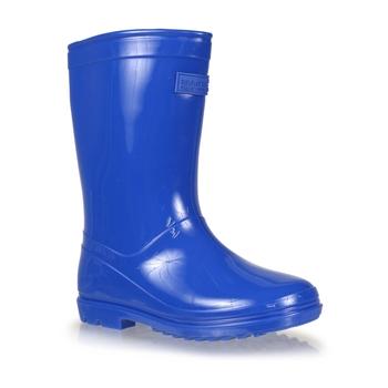 Kids' Wenlock Wellingtons Nautical Blue