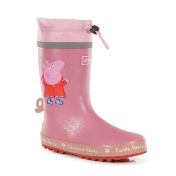 Peppa Pig Puddle Wellies Pink