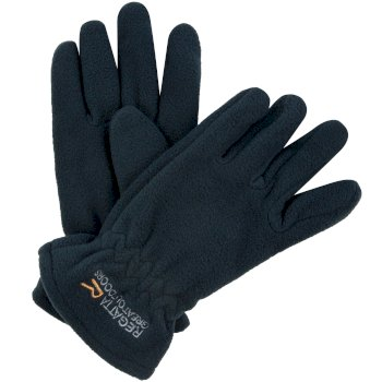 Kids Taz II Basic Fleece Gloves Navy