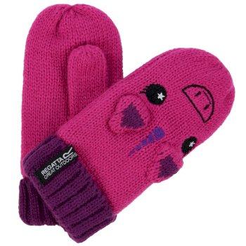 Kids Animally Mitts II Unicorn Gloves Extreme Pink Winberry