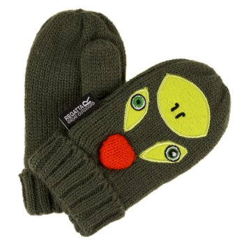 Kids Animally Mitts II Cypress Green Lime Punch