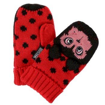 Kids' Animally III Mittens Lollipop Ladybird