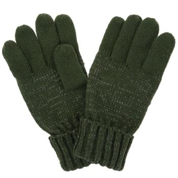 Kids' Luminosity Knitted Gloves Dark Khaki