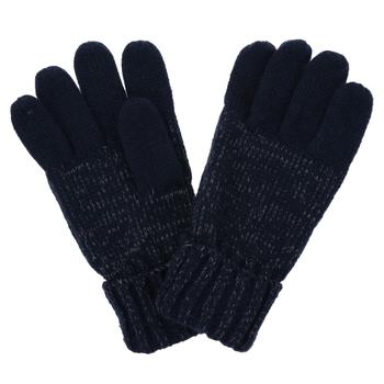 Kids' Luminosity Knitted Gloves Navy