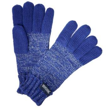 Kids' Luminosity Knitted Gloves Bright Royal