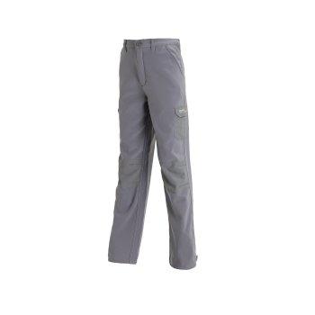 Kids Winter Stretch Softshell Trousers Rock Grey