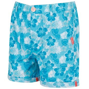 Kids Damzel Cool Weave Cotton Shorts Horizon