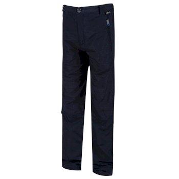 Kids' Sorcer Mountain lll Lightweight Walking Trousers Navy
