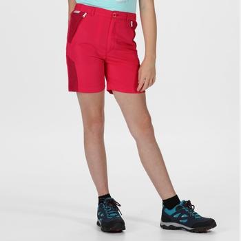 Kids' Sorcer Mountain Walking Shorts Duchess Dark Cerise