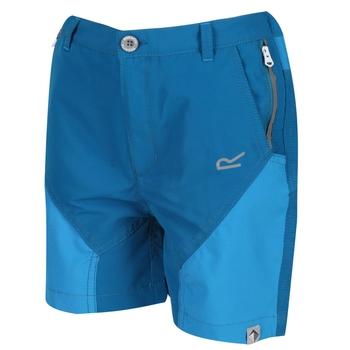 Kids' Sorcer Mountain Shorts Petrol Blue Blue Aster