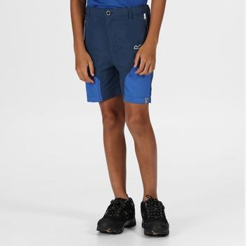 Kids' Sorcer Mountain Shorts Dark Denim Nautical Blue