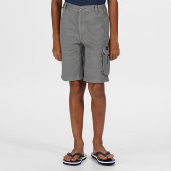 Kids' Shorewalk Coolweave Cargo Shorts Rock Grey