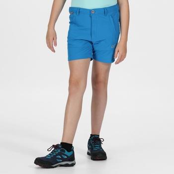 Kids' Highton Walking Shorts Blue Aster