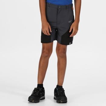 Kids' Sorcer IV Mountain Walking Trousers Ash Black