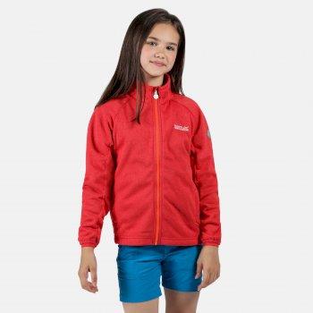 Kids' Avalon Full Zip Stretch Midlayer Coral Blush
