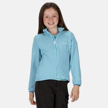 Kids' Highton Lite Full Zip Softshell Stretch Midlayer Nautical Blue
