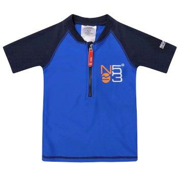 Kids Wader Swimwear Set Navy Skydiver Blue