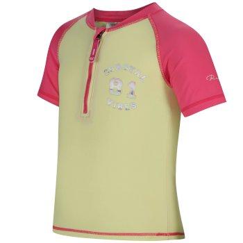 Kids Wader Swimwear Set Hot Pink Lime Fizz
