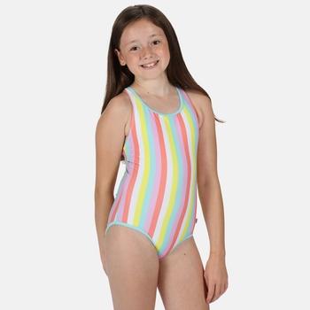Kids' Tanvi Swimming Costume Candy Stripe