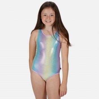 Kids' Tanvi Swimming Costume Rainbow Glitter