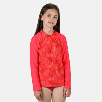 Kids' Hoku Swim Top Duchess Pink