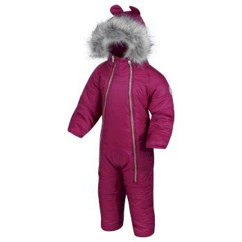 Kids' Panya Insulated Snowsuit Beetroot