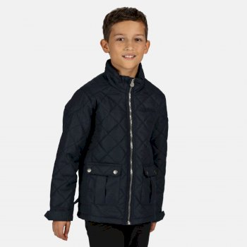 Kids' Zion Quilted Insulated Jacket Navy