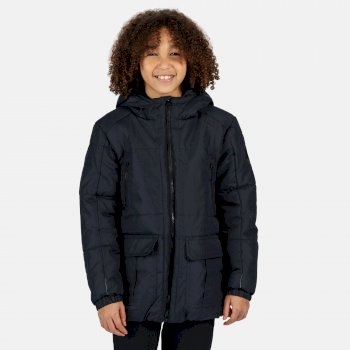 Kids' Perico Insulated Hooded Jacket Navy