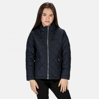 Kids' Zalenka Quilted Insulated Jacket Navy