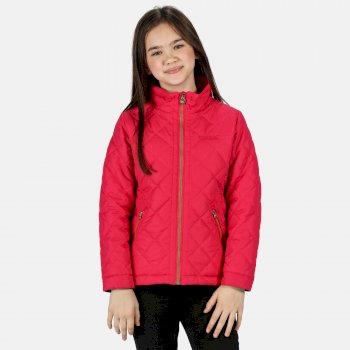 Kids' Zalenka Quilted Insulated Jacket Duchess Pink
