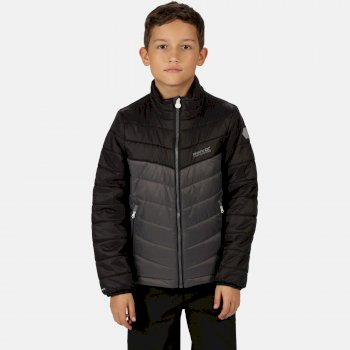 Kids' Freezeway II Insulated Quilted Walking Jacket Magnet Black