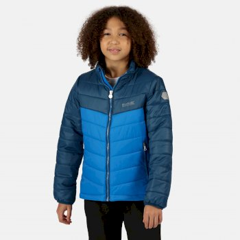 Kids' Freezeway II Insulated Quilted Walking Jacket Imperial Blue Deep Space